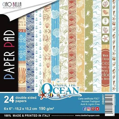 Ciao Bella - Under the Ocean - 6x6 paper pad