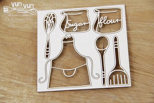 Scrapiniec - Yum Yum - Sugar and Flour