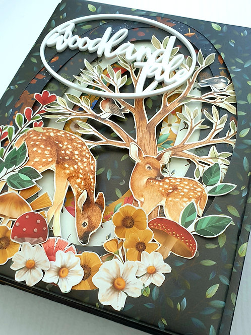 A Woodland Tale Minibook Kit and Class - Super Sweet 2020