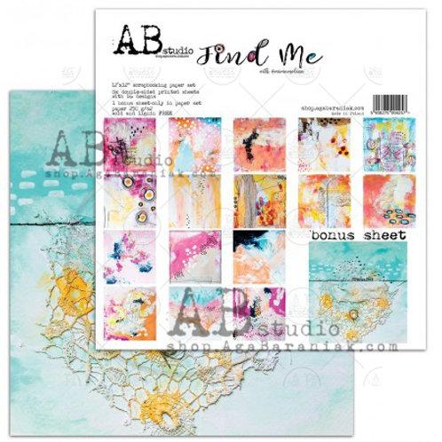 AB Studio - Find Me - 12x12 Paper Pack