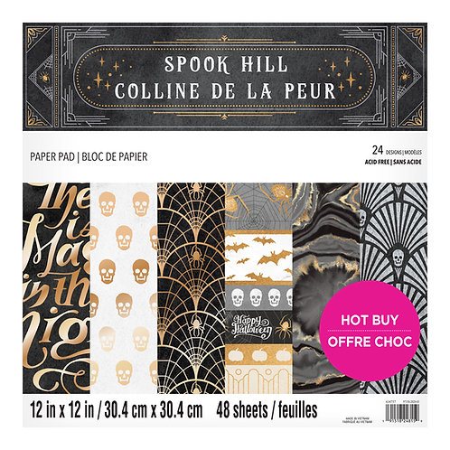 Craft Smith - Spook Hill - 12 x 12 Paper Pad