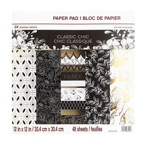 Craft Smith - Classic Chic - 12x12 Paper Pad