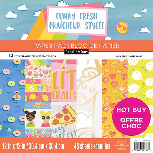 Craft Smith - Funky Fresh - 12 x 12 Paper Pad