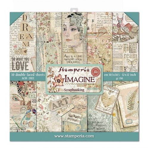Stamperia - Imagine - 12x12 Collection Pack