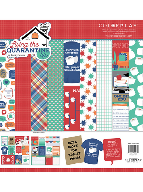 Photo Play- Living the Quarantine Life - 12x12 Collection Pack