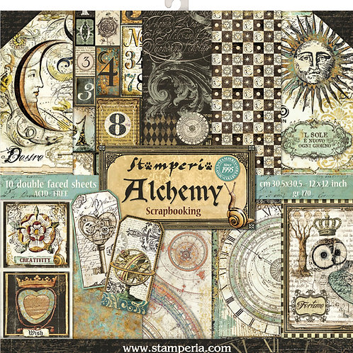 Stamperia Alchemy 12x12 collection pack