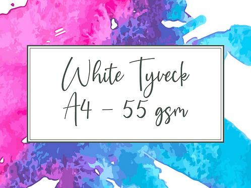 A4 Sheet of White Tyvek