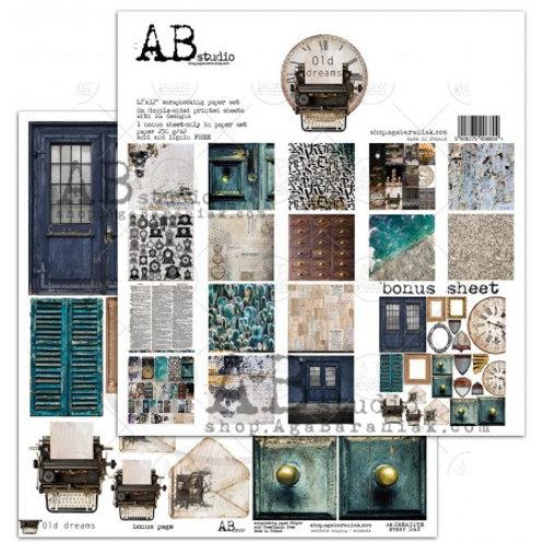 AB Studio - Old Dreams - 12x12 Paper Pack