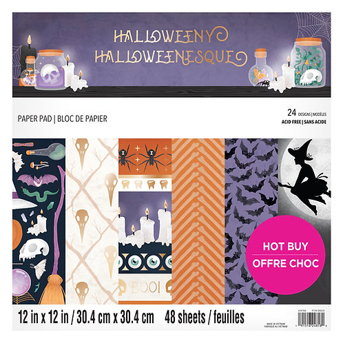 Craft Smith - Halloweeny - 12 x 12 Paper Pad