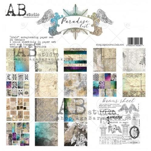 AB Studio - Paradise Lost - 12x12 Paper Pack