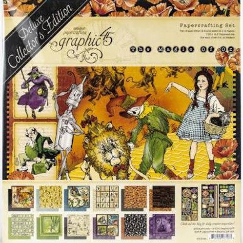 Graphic 45 - Magic of Oz - Deluxe Collectors Edition