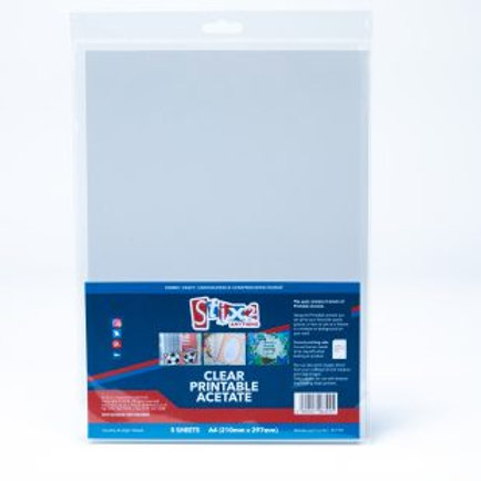 Stix2 - Clear Project Acetate - 5 sheet pack