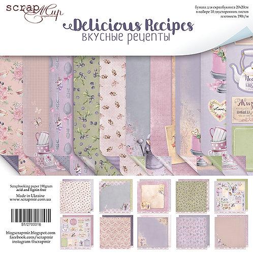 Beautiful Recipes Scrapbooking Kit and Die Cut Pack