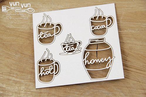 Scrapiniec- Yum Yum - Tea or Coffee