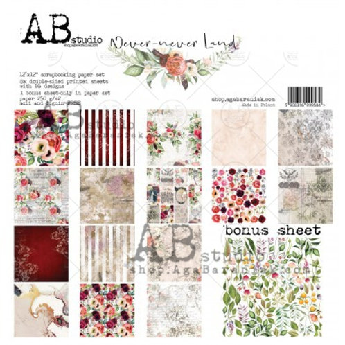 AB Studio - Never Never Land - 12x12 Paper Collection