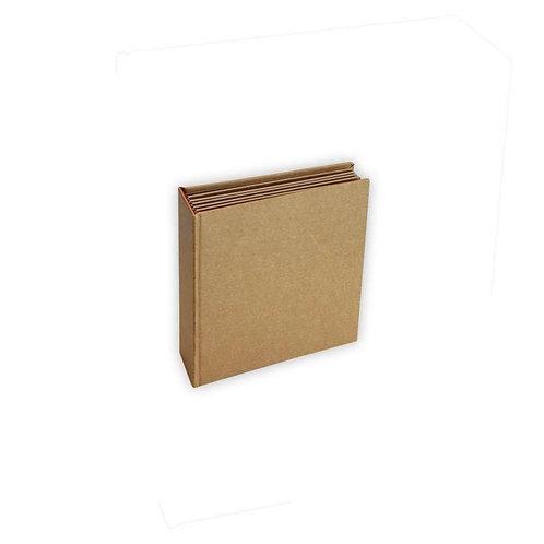 Stamperia Album 11.5 11.5 cm Kraft