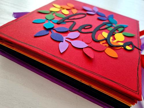 6x6 Sunday- Rainbow Star Book Class Kit