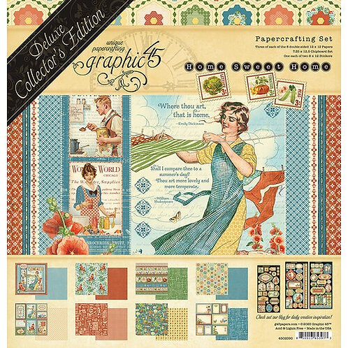 Graphic 45 - Home Sweet Home Deluxe Collectors Edition