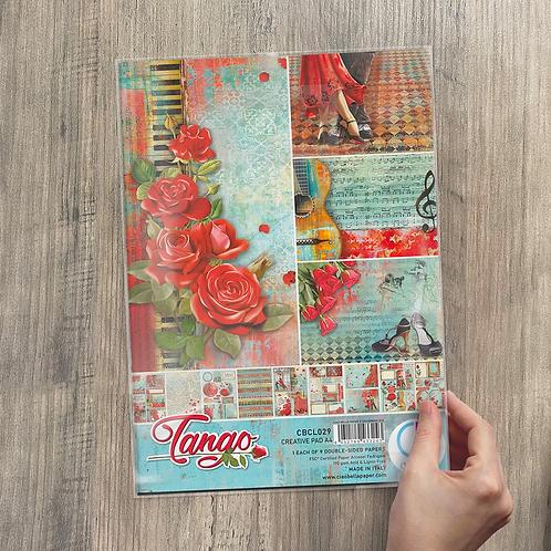 Ciao Bella - Tango - A4 Creative pad