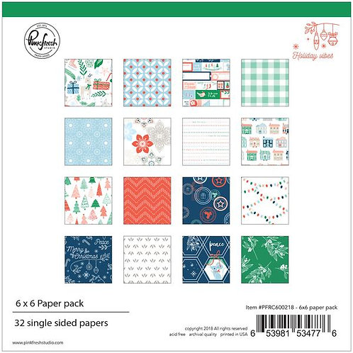 PinkFresh Studio - Holiday Vibes - 12x12 Collection Pack