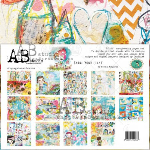 AB Studio - Shine Your Light - 12x12 Collection Pack