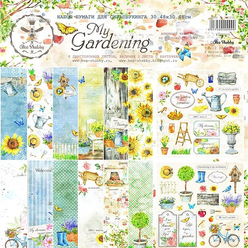 My Gardening Scrapbook Bundle by Bee Shabby