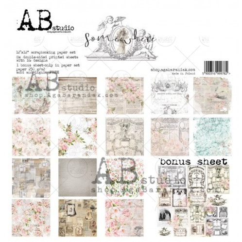 AB Studio - Somewhere - 12x12 Paper Pack