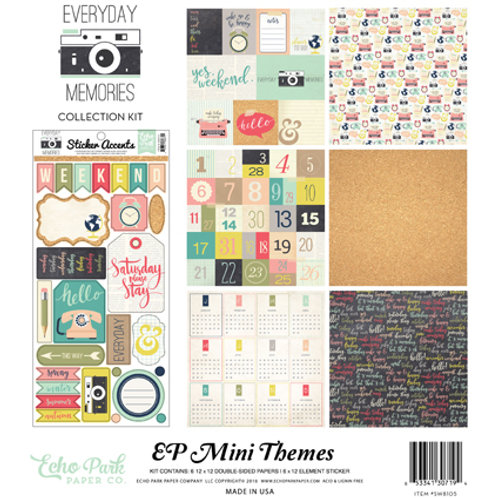Echo Park Everyday Memories Collection Pack