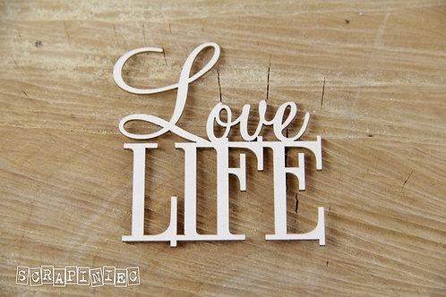 Scrapiniec - Love Life - Chipboard