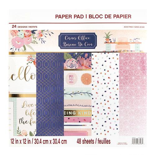 Craft Smith - Corner Office - 12 x 12 Paper Pad