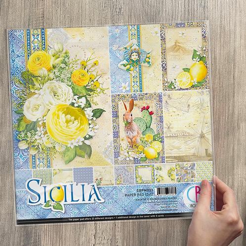 Ciao Bella - Sicilia - 12x12 paper pack