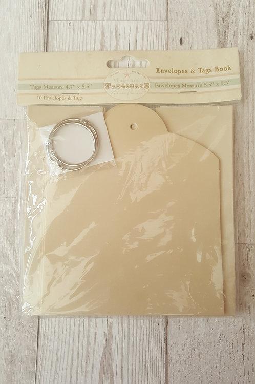 Tag and Envelope Mini Book
