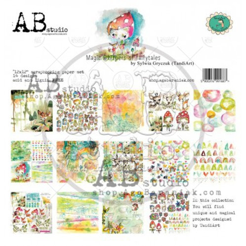 AB Studio - Magic Whispers of Fairytales - 12x12 Paper Pack