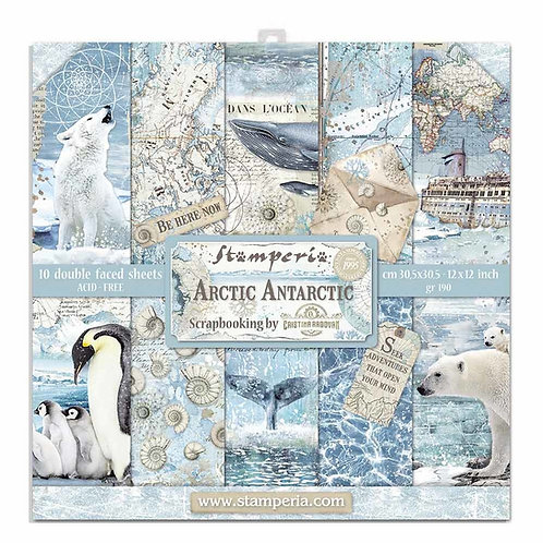 Stamperia Arctic Antarctic 12x12 Collection pack