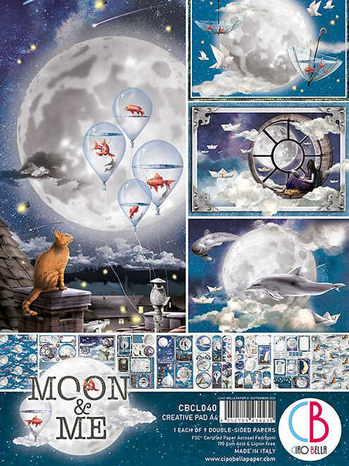 Ciao Bella - Moon and Me - A4 Creative pad
