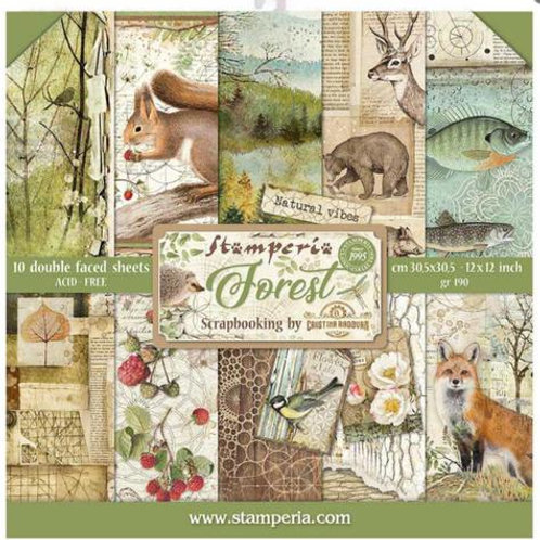 Stamperia - Forest - 12x12 Collection Pack