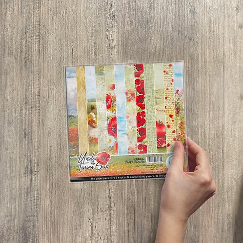 Ciao Bella - Under The Tuscan Sun - 6x6 paper pad