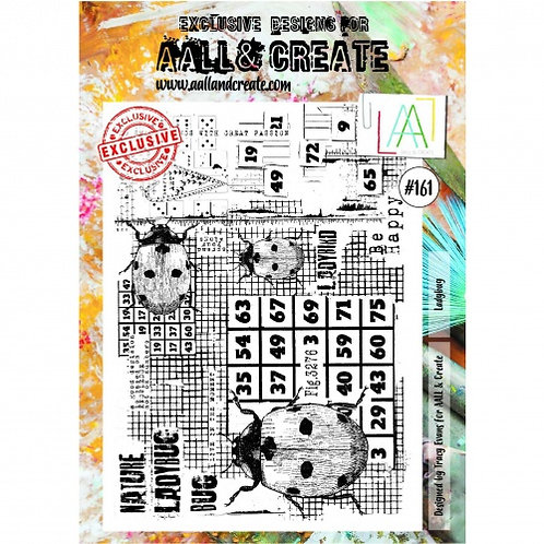 Stamp #161 Ladybug by Tracy Evans for Aall & Create