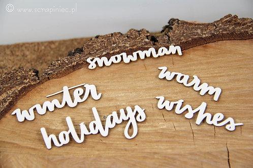 Scrapiniec - Just Chillin Inscriptions - Holidays