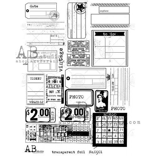 AB Studio - Transparent Foil 0002
