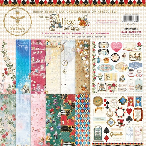 Follow The Alice Scrapbooking Bundle by Bee Shabby