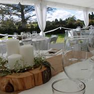 LaValla Marquee wedding in the garden