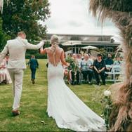 LaValla wedding ceremony