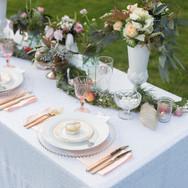 LaValla Wedding set up