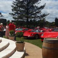 Ferrari show on LaValla Lawn