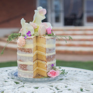 LaValla Wedding cake