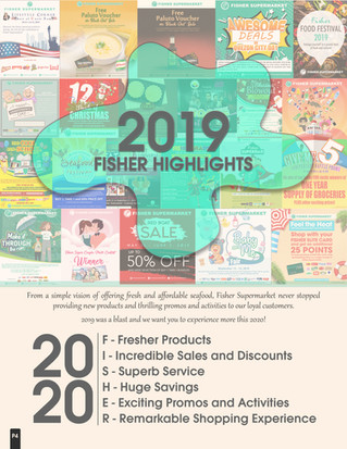 2019 Fisher Highlights