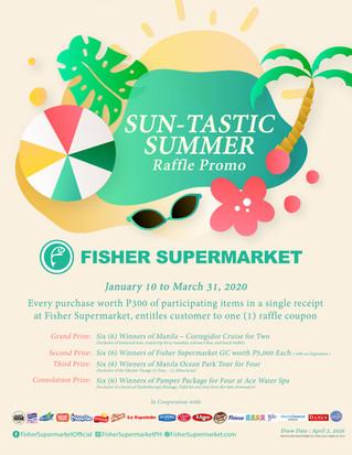 SUN-tastic Summer Raffle Promo