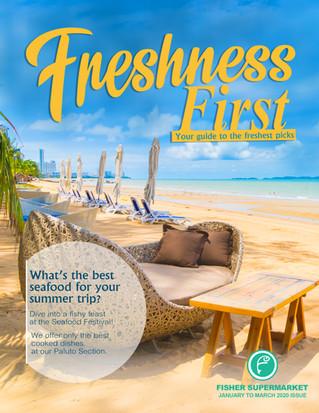Freshness First Magazine 2020 - Summer Edition