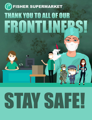 Thank You To All Frontliners!